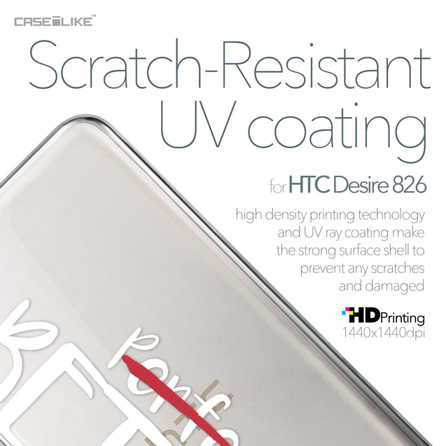 HTC Desire 826 case Quote 2410 with UV-Coating Scratch-Resistant Case | CASEiLIKE.com