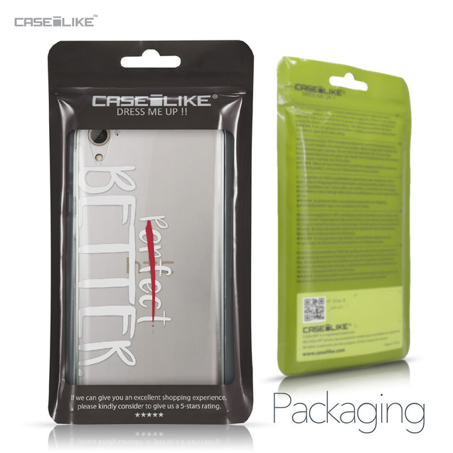 HTC Desire 826 case Quote 2410 Retail Packaging | CASEiLIKE.com