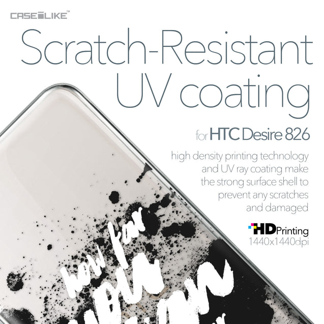 HTC Desire 826 case Quote 2413 with UV-Coating Scratch-Resistant Case | CASEiLIKE.com