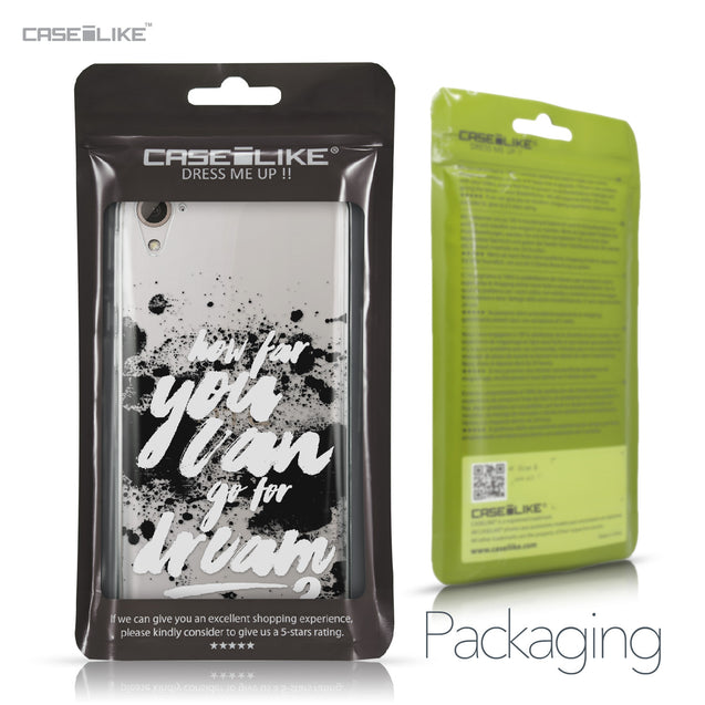 HTC Desire 826 case Quote 2413 Retail Packaging | CASEiLIKE.com