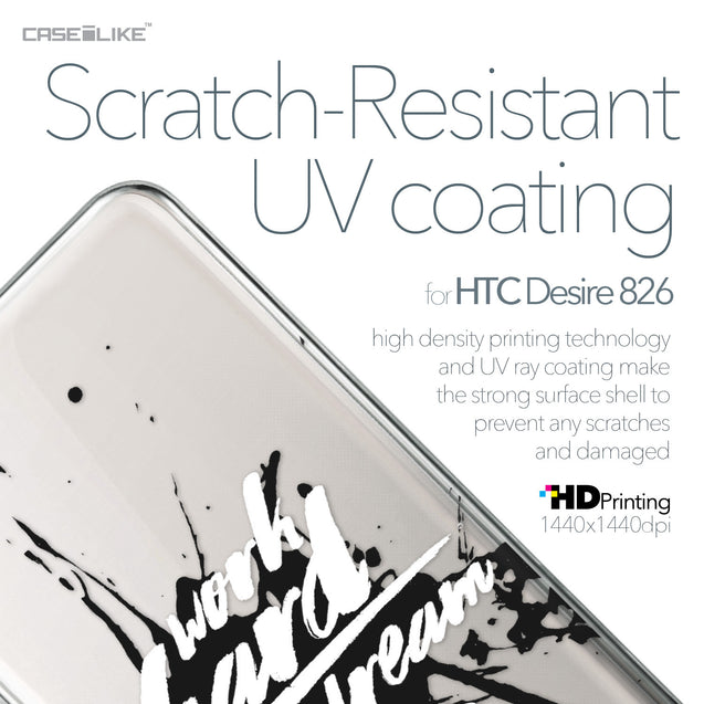 HTC Desire 826 case Quote 2414 with UV-Coating Scratch-Resistant Case | CASEiLIKE.com