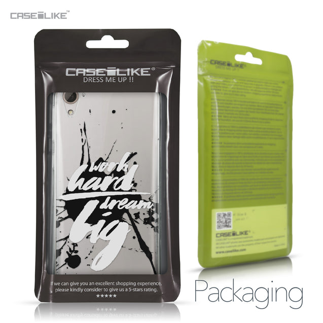 HTC Desire 826 case Quote 2414 Retail Packaging | CASEiLIKE.com