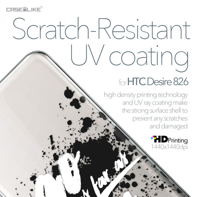 HTC Desire 826 case Quote 2415 with UV-Coating Scratch-Resistant Case | CASEiLIKE.com