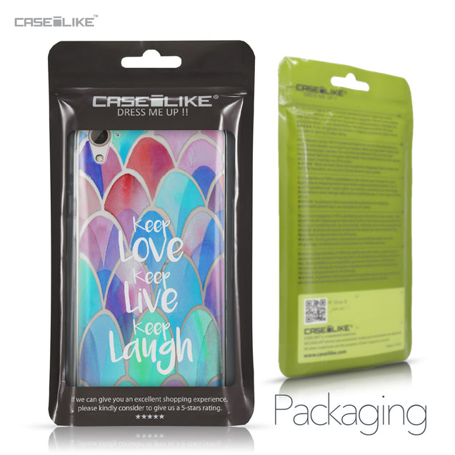 HTC Desire 826 case Quote 2417 Retail Packaging | CASEiLIKE.com