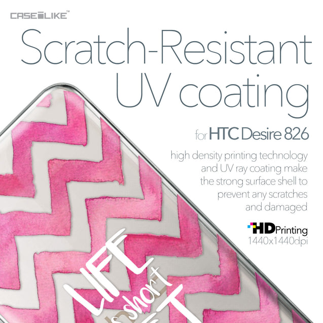 HTC Desire 826 case Quote 2419 with UV-Coating Scratch-Resistant Case | CASEiLIKE.com