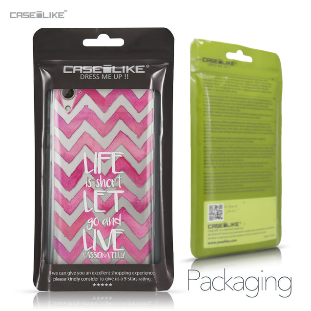 HTC Desire 826 case Quote 2419 Retail Packaging | CASEiLIKE.com