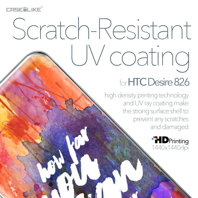 HTC Desire 826 case Quote 2421 with UV-Coating Scratch-Resistant Case | CASEiLIKE.com