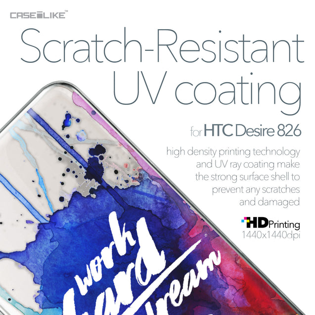 HTC Desire 826 case Quote 2422 with UV-Coating Scratch-Resistant Case | CASEiLIKE.com