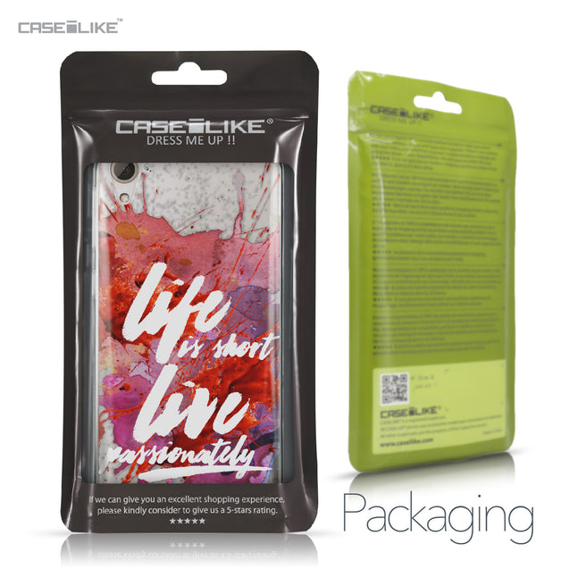 HTC Desire 826 case Quote 2423 Retail Packaging | CASEiLIKE.com