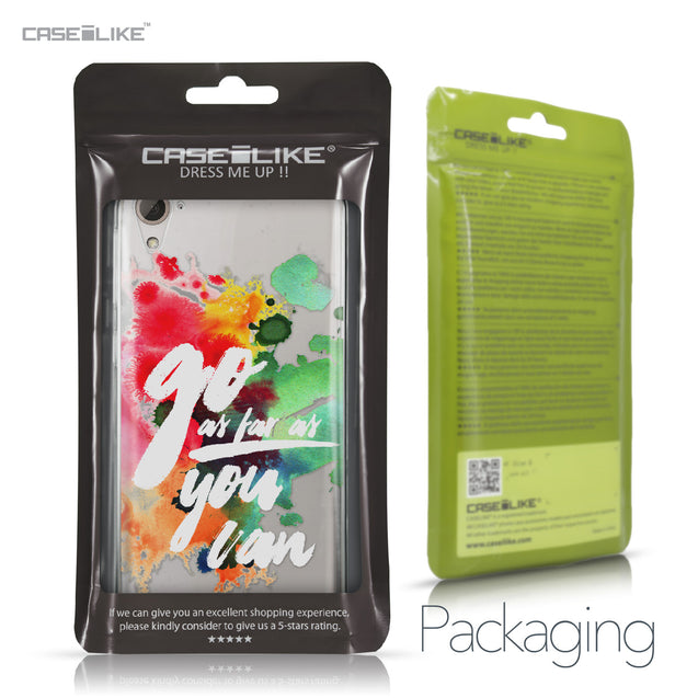 HTC Desire 826 case Quote 2424 Retail Packaging | CASEiLIKE.com