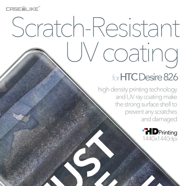 HTC Desire 826 case Quote 2430 with UV-Coating Scratch-Resistant Case | CASEiLIKE.com