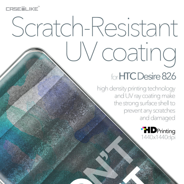HTC Desire 826 case Quote 2431 with UV-Coating Scratch-Resistant Case | CASEiLIKE.com