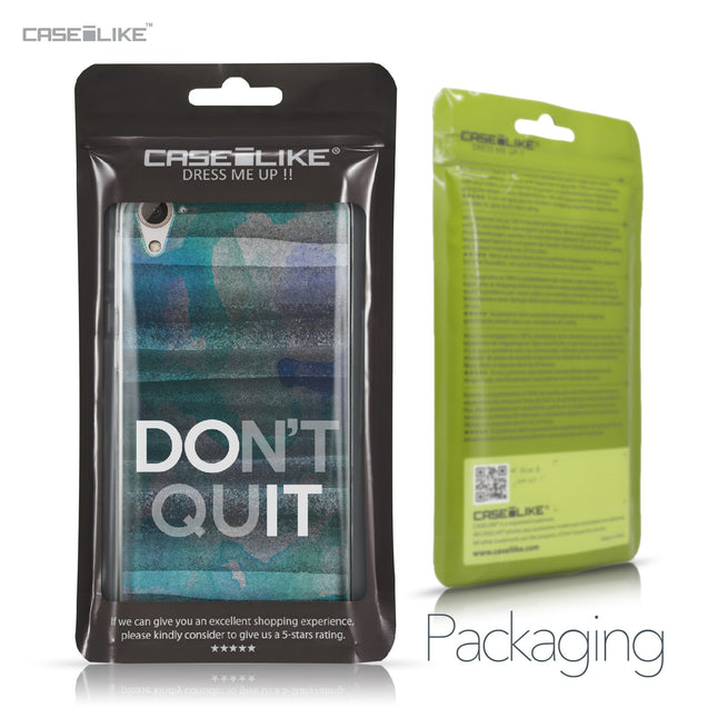 HTC Desire 826 case Quote 2431 Retail Packaging | CASEiLIKE.com