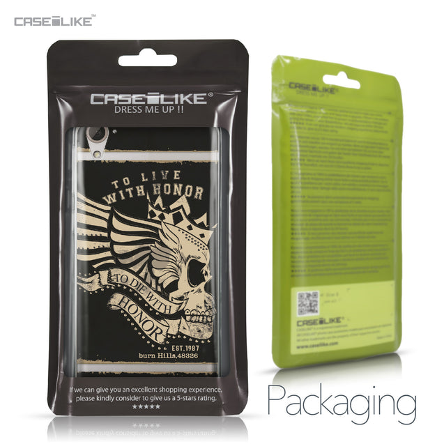 HTC Desire 826 case Art of Skull 2529 Retail Packaging | CASEiLIKE.com
