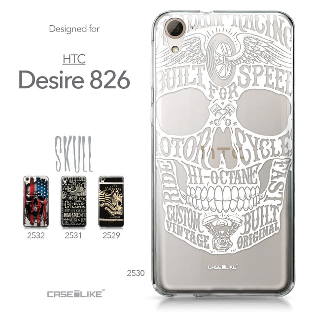 HTC Desire 826 case Art of Skull 2530 Collection | CASEiLIKE.com
