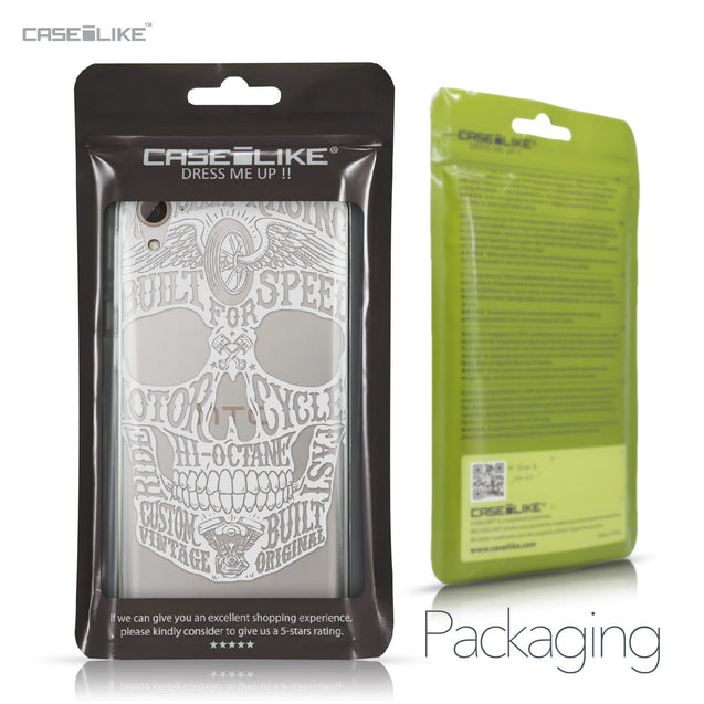 HTC Desire 826 case Art of Skull 2530 Retail Packaging | CASEiLIKE.com