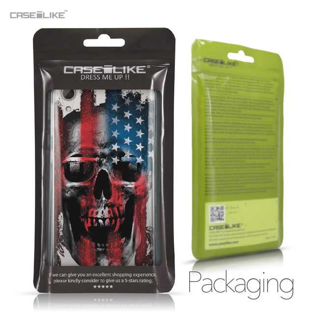 HTC Desire 826 case Art of Skull 2532 Retail Packaging | CASEiLIKE.com