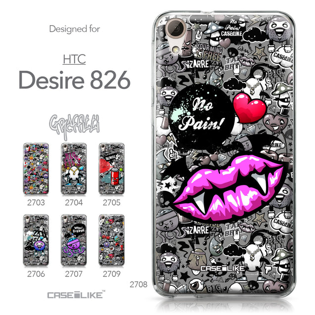 HTC Desire 826 case Graffiti 2708 Collection | CASEiLIKE.com