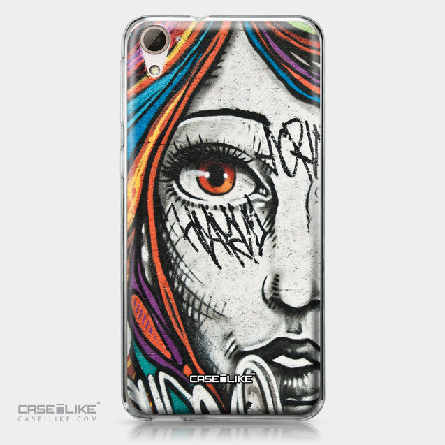 HTC Desire 826 case Graffiti Girl 2724 | CASEiLIKE.com