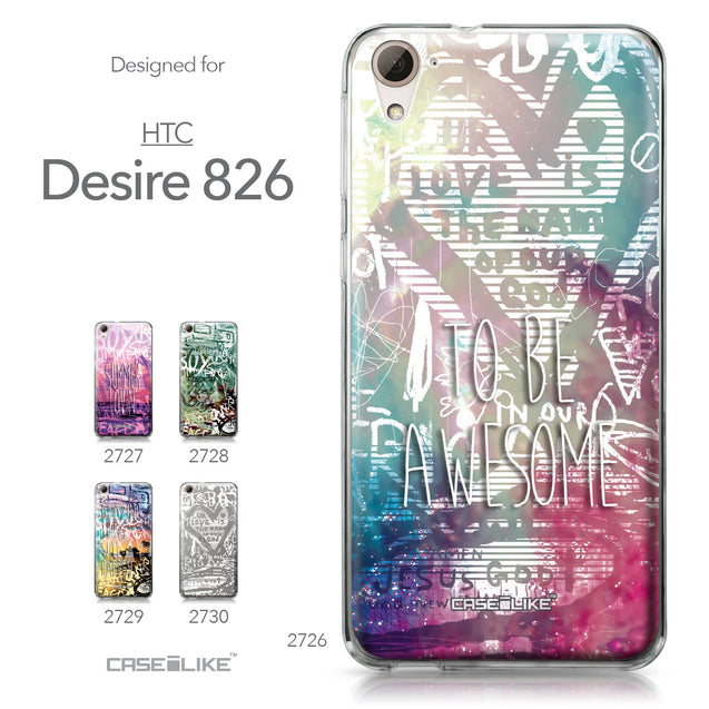 HTC Desire 826 case Graffiti 2726 Collection | CASEiLIKE.com