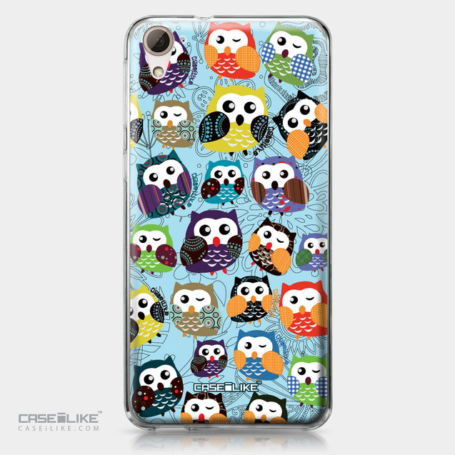 HTC Desire 826 case Owl Graphic Design 3312 | CASEiLIKE.com