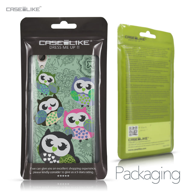 HTC Desire 826 case Owl Graphic Design 3313 Retail Packaging | CASEiLIKE.com