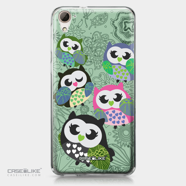 HTC Desire 826 case Owl Graphic Design 3313 | CASEiLIKE.com