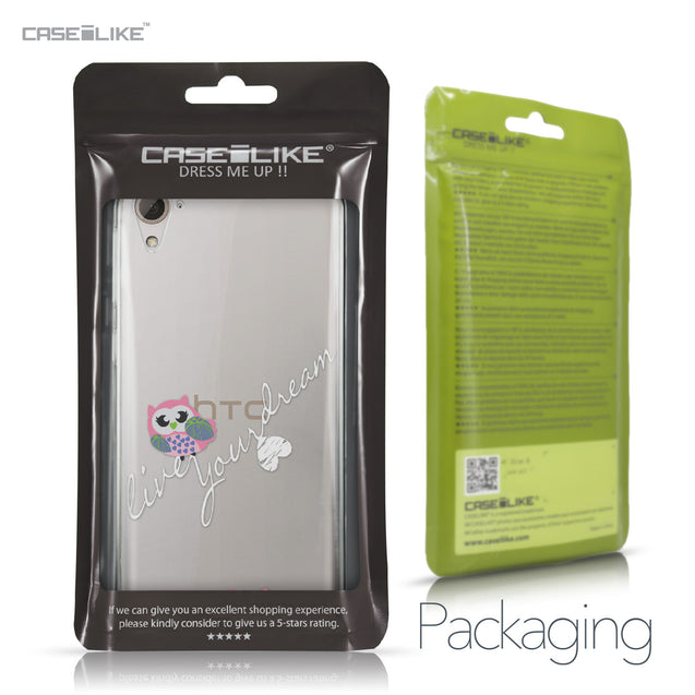 HTC Desire 826 case Owl Graphic Design 3314 Retail Packaging | CASEiLIKE.com