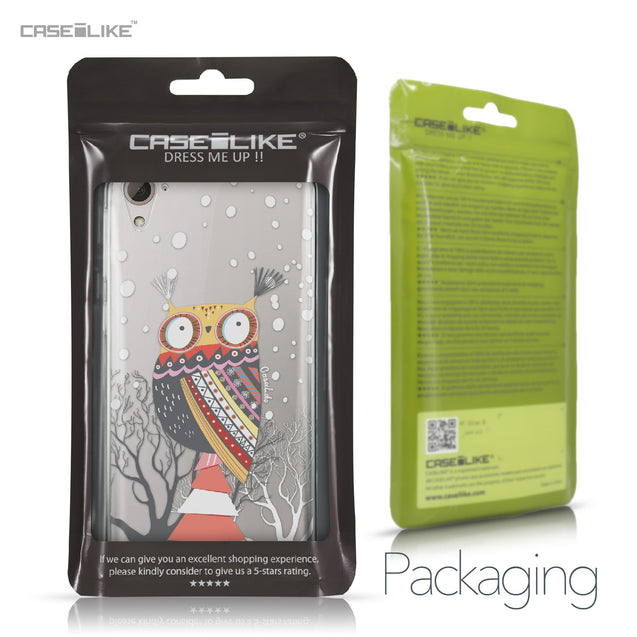 HTC Desire 826 case Owl Graphic Design 3317 Retail Packaging | CASEiLIKE.com