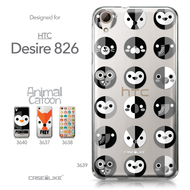 HTC Desire 826 case Animal Cartoon 3639 Collection | CASEiLIKE.com