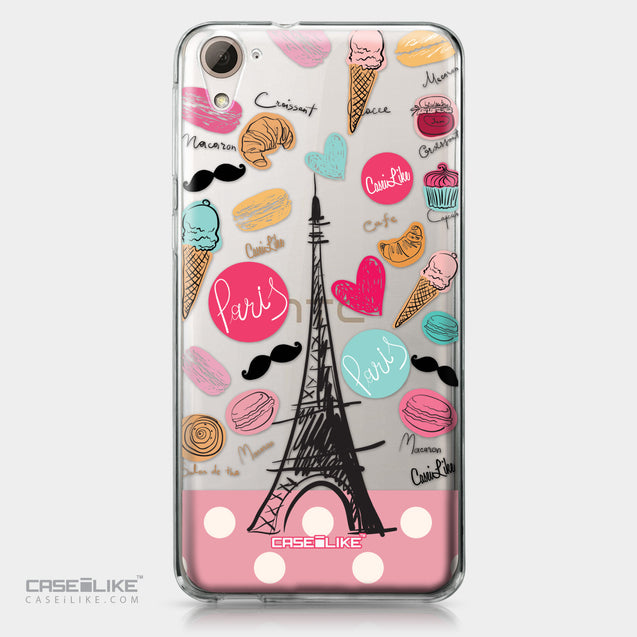 HTC Desire 826 case Paris Holiday 3904 | CASEiLIKE.com