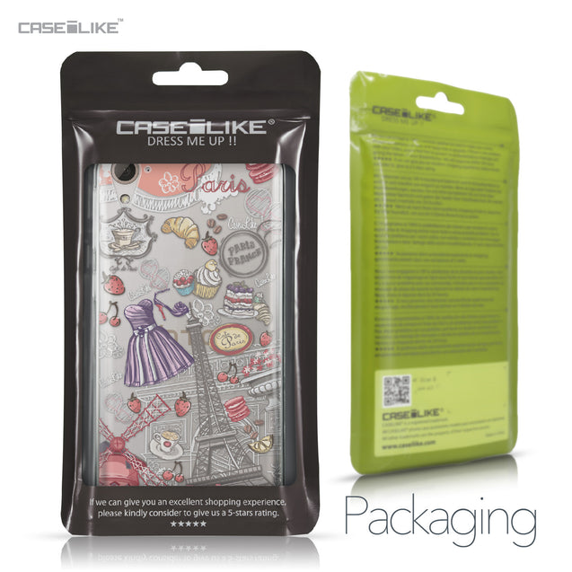 HTC Desire 826 case Paris Holiday 3907 Retail Packaging | CASEiLIKE.com