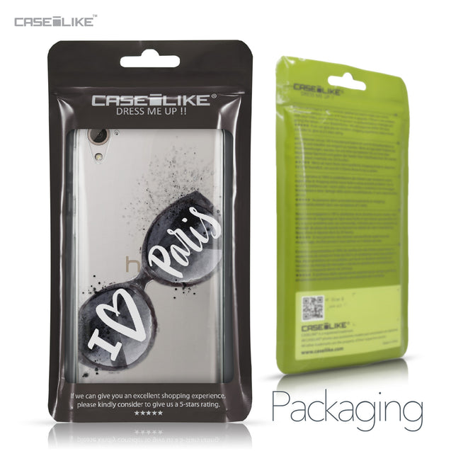 HTC Desire 826 case Paris Holiday 3911 Retail Packaging | CASEiLIKE.com