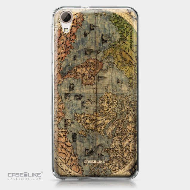 HTC Desire 826 case World Map Vintage 4608 | CASEiLIKE.com