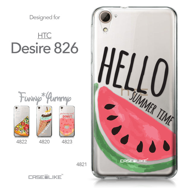 HTC Desire 826 case Water Melon 4821 Collection | CASEiLIKE.com