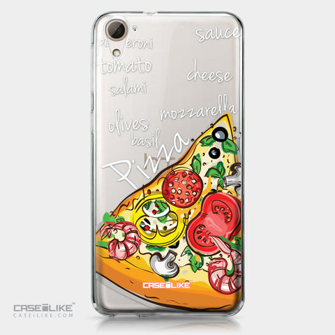 HTC Desire 826 case Pizza 4822 | CASEiLIKE.com