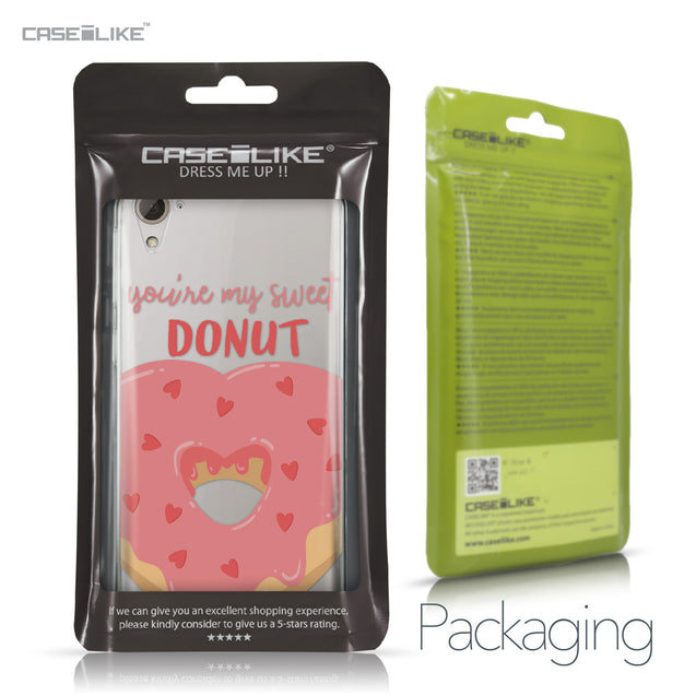 HTC Desire 826 case Dounuts 4823 Retail Packaging | CASEiLIKE.com