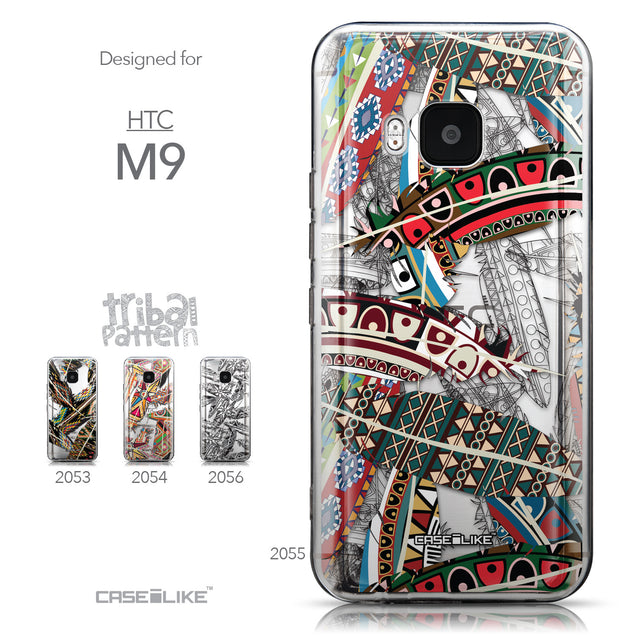 Collection - CASEiLIKE HTC One M9 back cover Indian Tribal Theme Pattern 2055