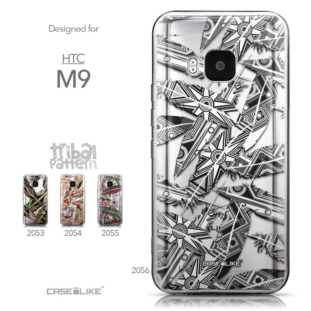 Collection - CASEiLIKE HTC One M9 back cover Indian Tribal Theme Pattern 2056
