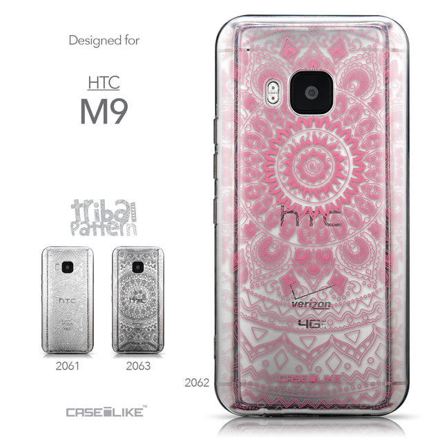 Collection - CASEiLIKE HTC One M9 back cover Indian Line Art 2062