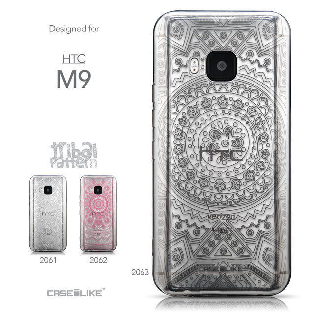 Collection - CASEiLIKE HTC One M9 back cover Indian Line Art 2063