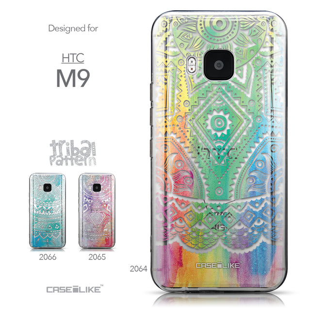 Collection - CASEiLIKE HTC One M9 back cover Indian Line Art 2064