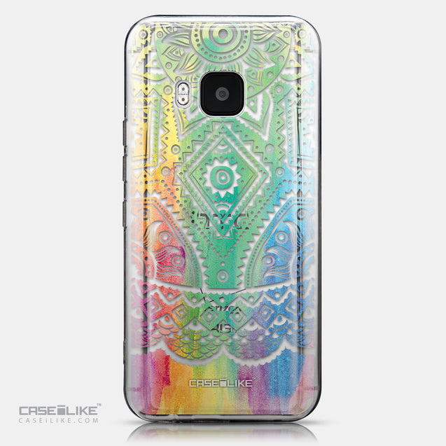 CASEiLIKE HTC One M9 back cover Indian Line Art 2064