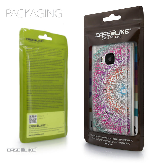 Packaging - CASEiLIKE HTC One M9 back cover Mandala Art 2090