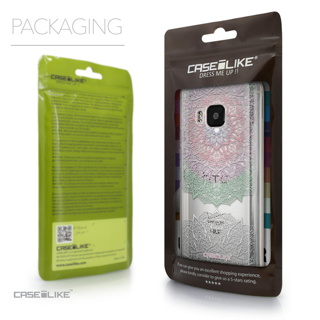 Packaging - CASEiLIKE HTC One M9 back cover Mandala Art 2092