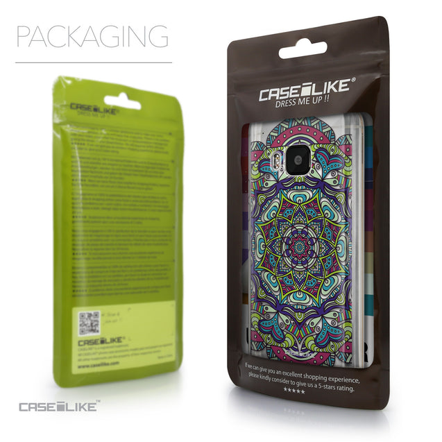 Packaging - CASEiLIKE HTC One M9 back cover Mandala Art 2094