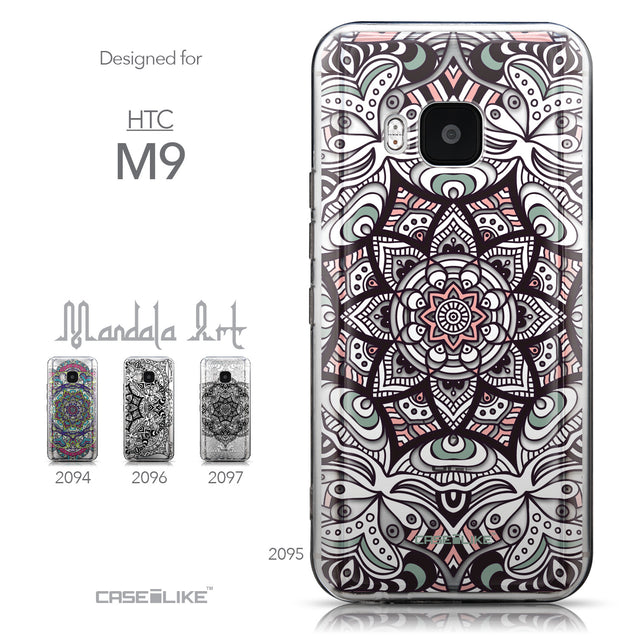 Collection - CASEiLIKE HTC One M9 back cover Mandala Art 2095