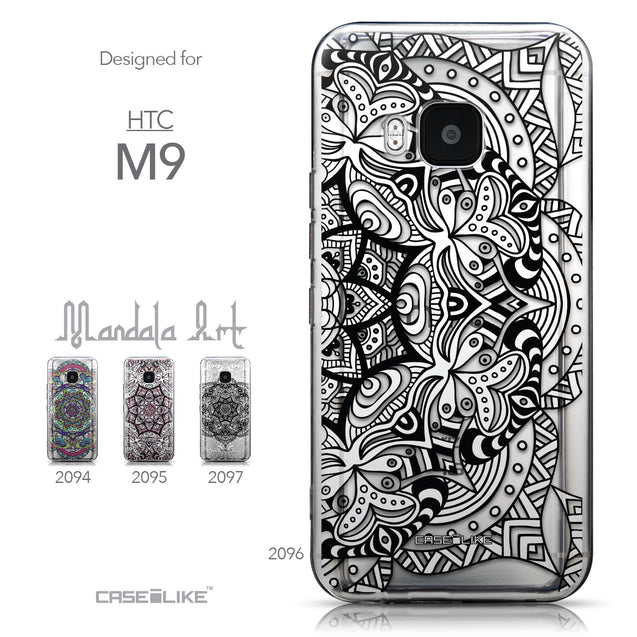 Collection - CASEiLIKE HTC One M9 back cover Mandala Art 2096
