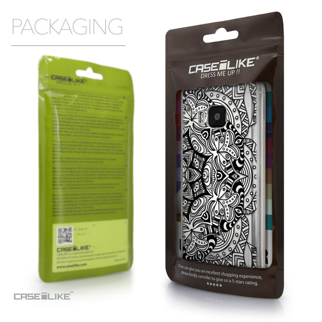 Packaging - CASEiLIKE HTC One M9 back cover Mandala Art 2096