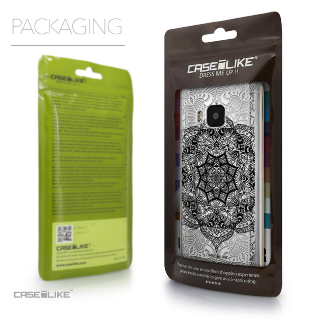 Packaging - CASEiLIKE HTC One M9 back cover Mandala Art 2097